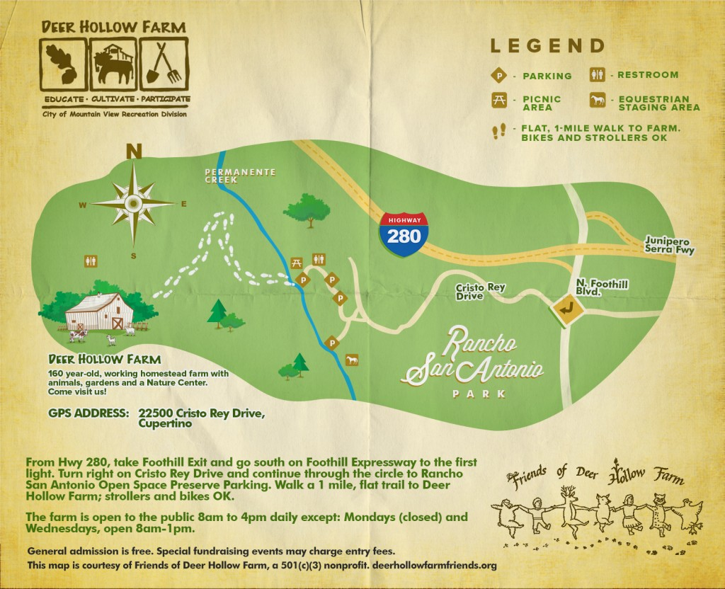 Deer Hollow Farm Revised Map