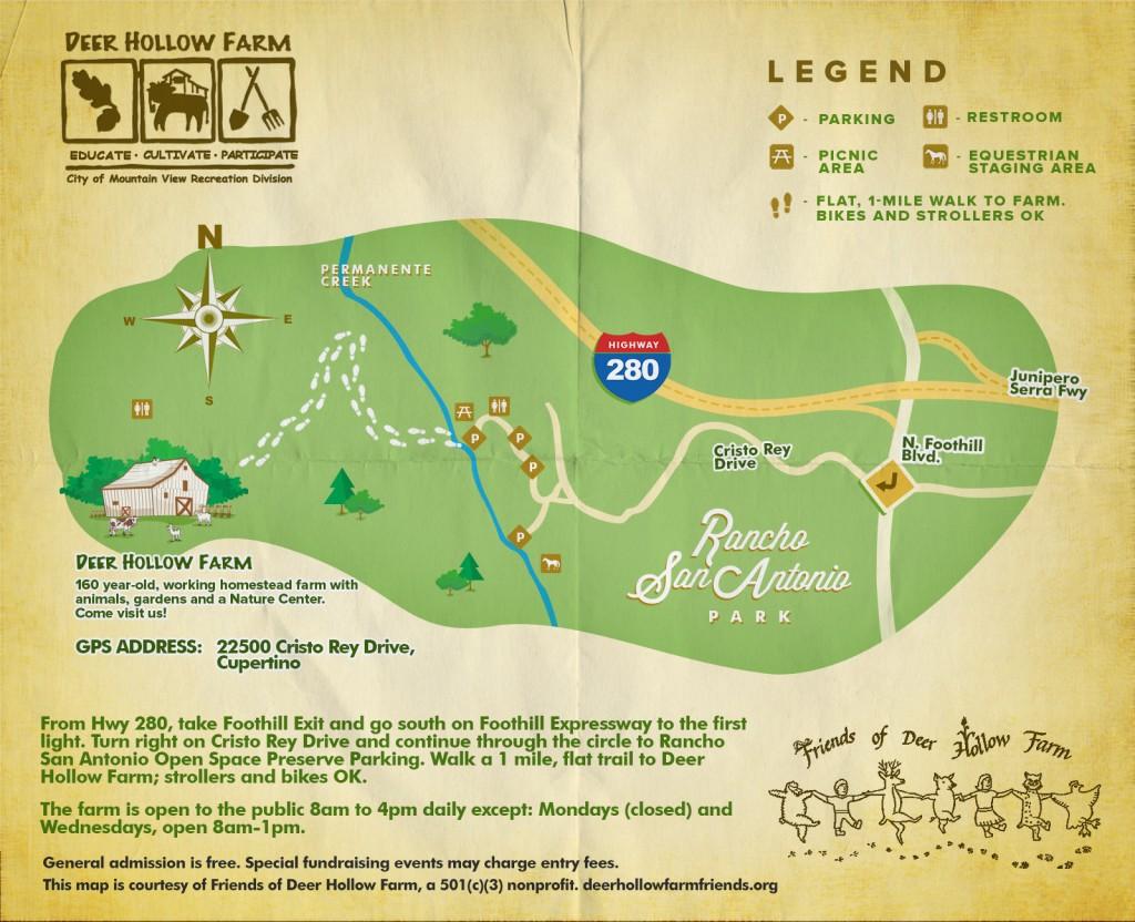 Deer Hollow Farm Revised Map