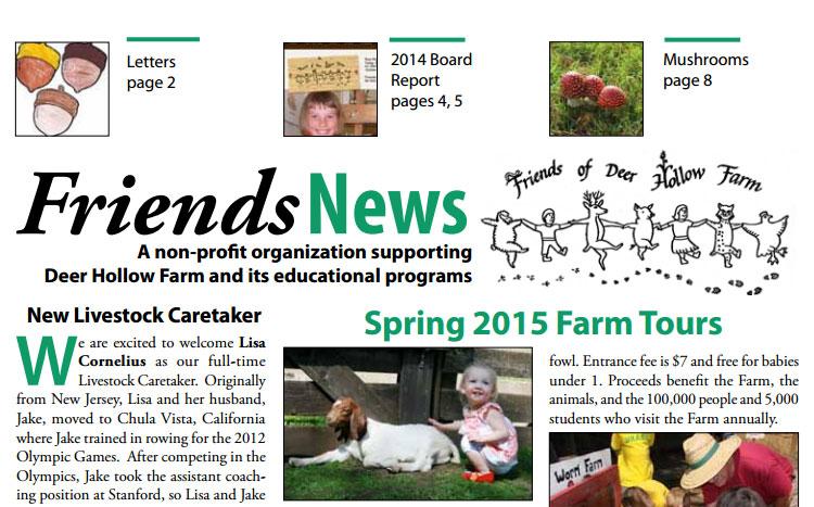 Sring2015newsletter